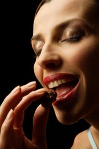 womanTastingChocolate