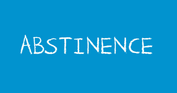 Abstinence_600